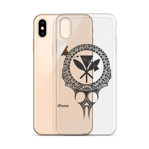 Image of Kanaka Maoli Iphone Case The Eyes Gray AH J1 - Alohawaii