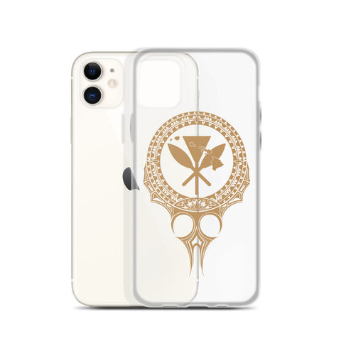 Kanaka Maoli Iphone Case The Eyes Gold