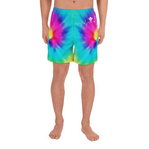 Image of Hawaiian Kanaka Men's Short Tie Dye - AH - J1 - Alohawaii