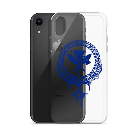Kanaka Maoli Iphone Case The Eyes Blue AH J1