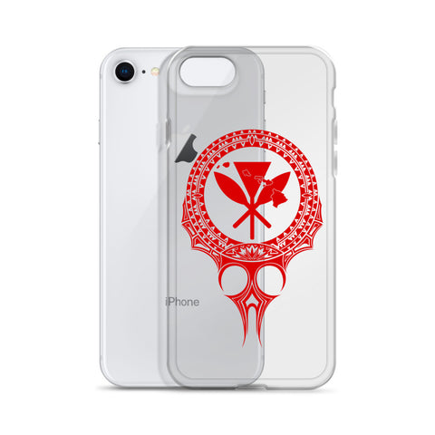 Kanaka Maoli Iphone Case The Eyes Red AH J1 - Alohawaii