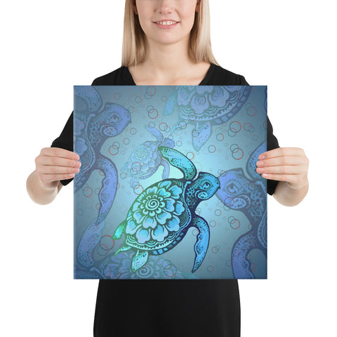 Turtle Beauty Canvas - AH - J1 - Alohawaii