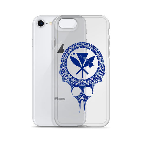 Image of Kanaka Maoli Iphone Case The Eyes Blue AH J1 - Alohawaii