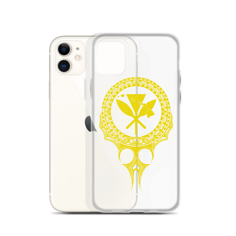 Kanaka Maoli Iphone Case The Eyes Yellow