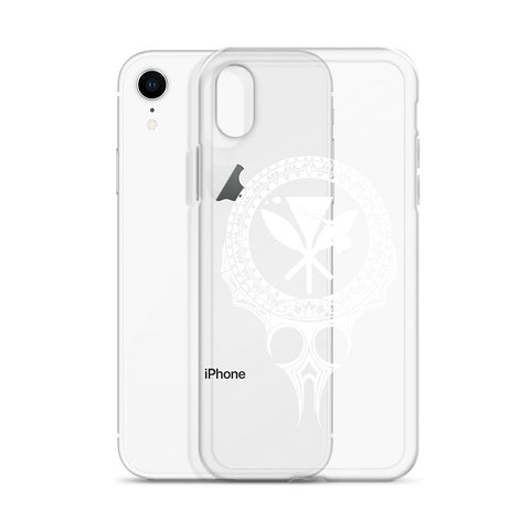 Kanaka Maoli Iphone Case The Eyes White AH J1