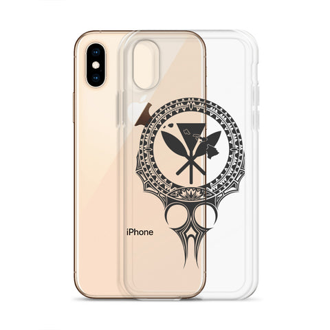 Kanaka Maoli Iphone Case The Eyes Gray AH J1