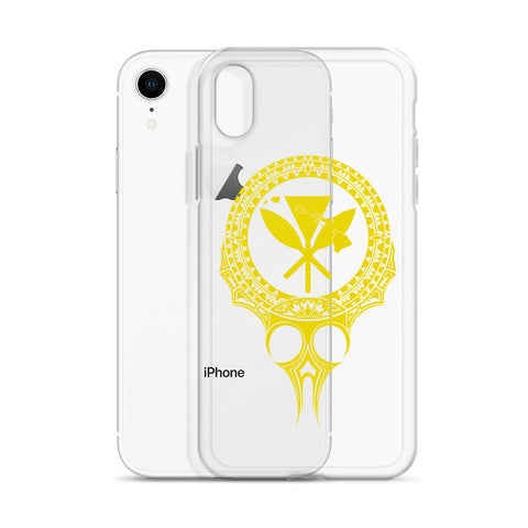 Kanaka Maoli Iphone Case The Eyes Yellow AH J1