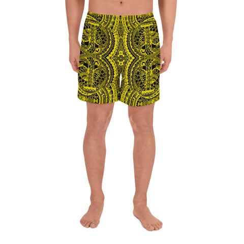 Polynesian Symmetry Yellow