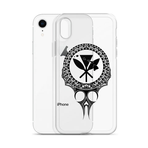 Kanaka Maoli Iphone Case The Eyes Black AH J1 - Alohawaii
