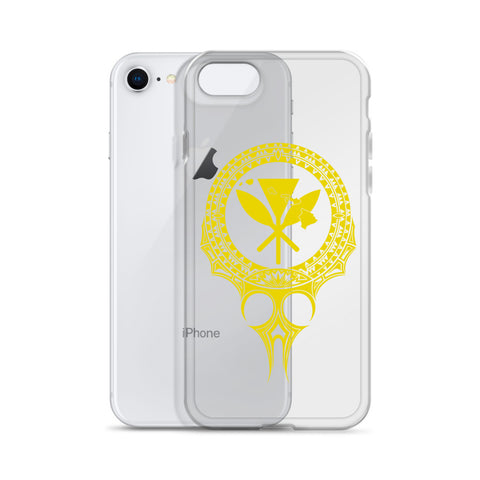 Kanaka Maoli Iphone Case The Eyes Yellow AH J1 - Alohawaii
