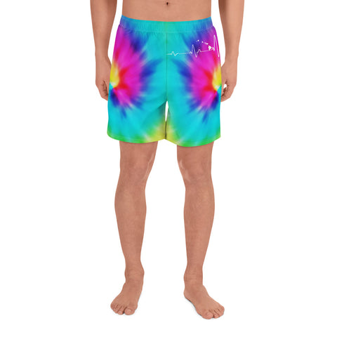 Hawaiian Map Men's Short Tie Dye - AH - J1 - Alohawaii