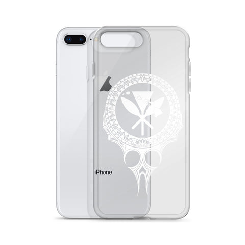 Image of Kanaka Maoli Iphone Case The Eyes White AH J1 - Alohawaii