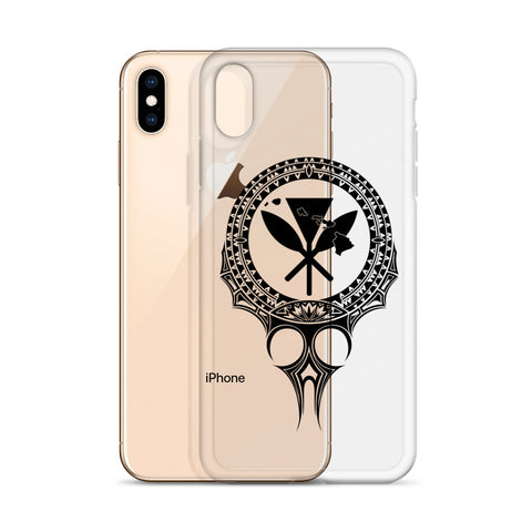 Image of Kanaka Maoli Iphone Case The Eyes Black AH J1 - Alohawaii