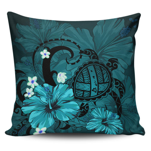 Hawaii Turtle Poly Tribal Pillow Covers