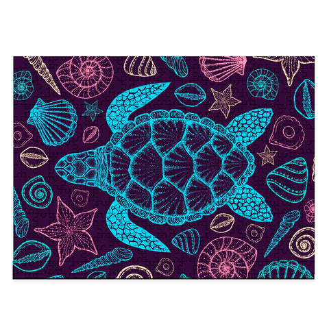 Image of Hawaii Turtle Marine Jigsaw Puzzle - AH - J4 - Alohawaii