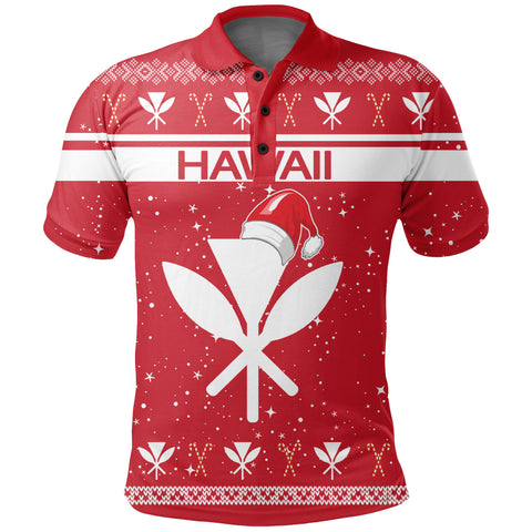 Image of Hawaii Christmas Polo Shirt - Show Style - AH - J4