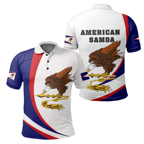 Image of American Samoan Polo Shirt - Arch Style