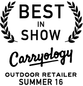 Best in Show — Carryology — Outdoor Retailer, Summer 2016