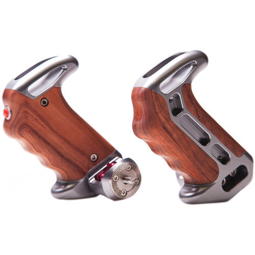 Tilta Wooden Handles with ARRI Rosettes and Two Extension Arms