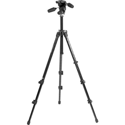 Manfrotto Carbon Fiber Tripod with Head