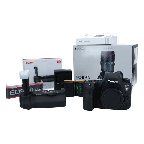 Canon EOS 6D Mark II Camera with Battery Grip