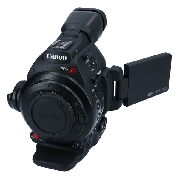 Canon C100 Mark II with EF Mount (Dual Pixel AF)