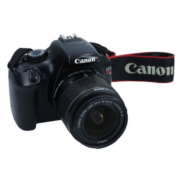 Canon EOS Rebel T3 with Canon EFS 18-55mm f3.5-5.6 IS II