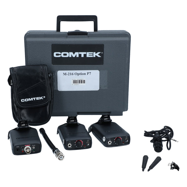 Comtek M-216 IFB Wireless Complete Kit with 1 Transmitter and 2 Receivers #314097