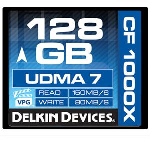 Delkin 128GB 1000X CompactFlash