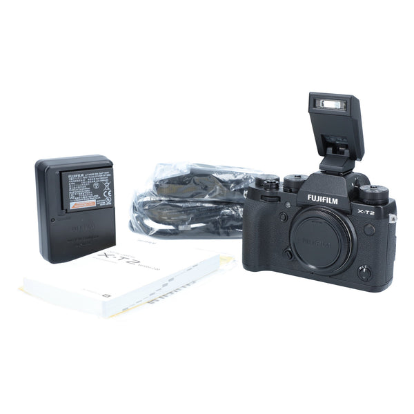 Fuji XT-2 Mirrorless Camera with Vertical Power Booster #C0724