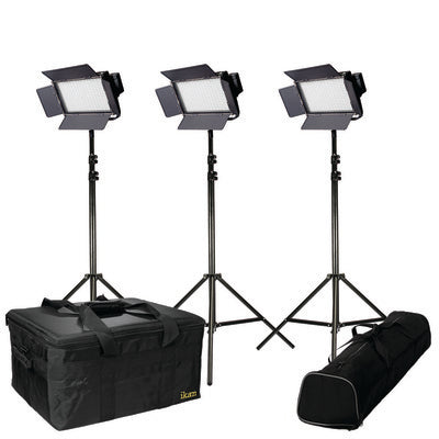 ikan Bi-Color LED 3-Light Kit