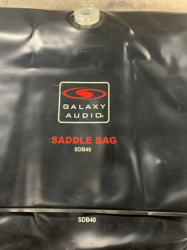 Galaxy Audio Saddle Bag SDB40