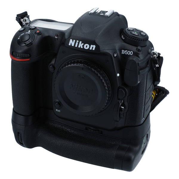 Nikon D500 Camera Package with Grip