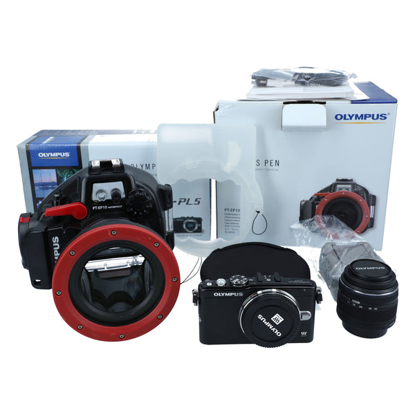 Olympus Dive Housing package with PEN E-PL5 and 14-42mm 3.5-5.6