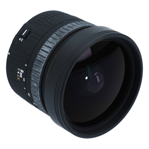 Sigma 8mm f/4 EX Circular Fisheye for Canon SLR