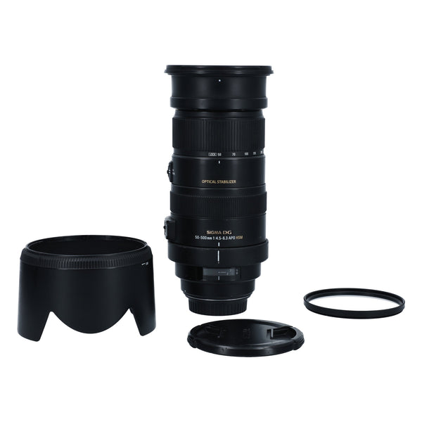 Sigma 50-500mm f/4.5-6.3 APO HSM OS for Canon #00181