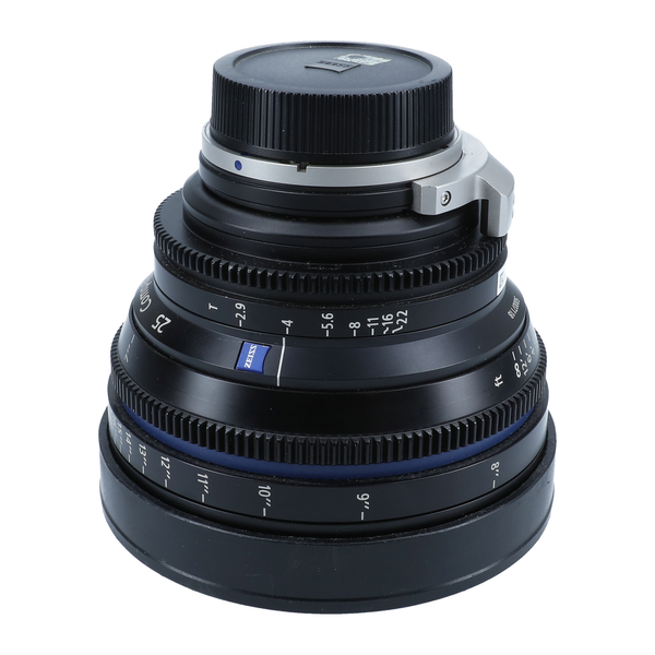 Zeiss Compact Prime CP.2 25mm T2.9 2.9 (Feet) Lens with PL & EF mounts