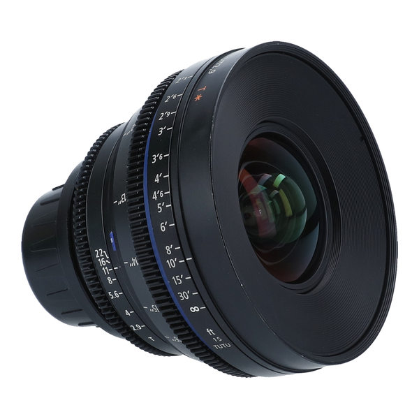 Zeiss Compact Prime CP.2 15mm f/2.9 T* (Feet) with EF & PL Mounts