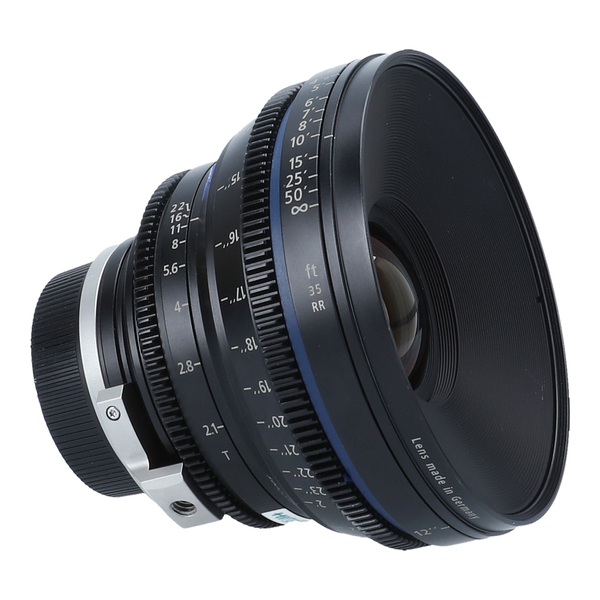 Zeiss Compact Prime CP.2 35mm f/2.1 T* (Feet) Lens with PL & EF Mounts
