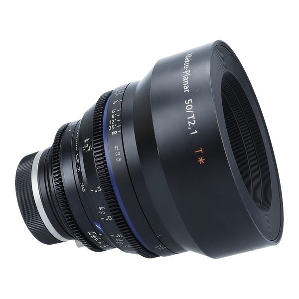 Zeiss Compact Prime CP.2 50mm f/2.1 Makro-Planar T* (Feet) Lens with EF & PL mounts