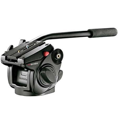 Manfrotto Light Duty Tripod 501HDV Head