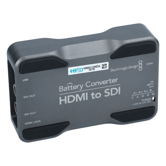 Blackmagic HDMI to SDI Battery Converter #00730