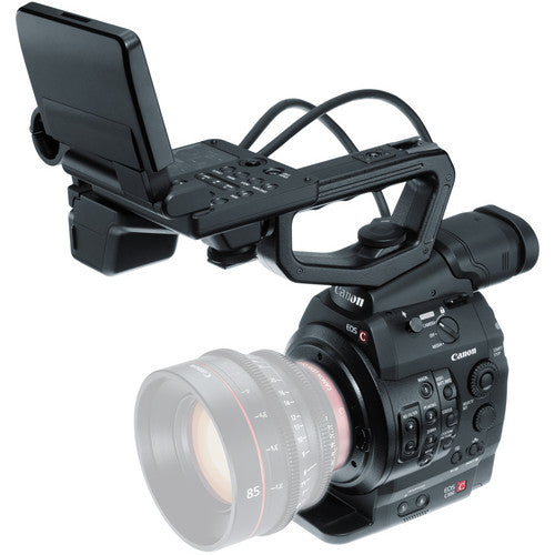 Canon C300 with EF Mount