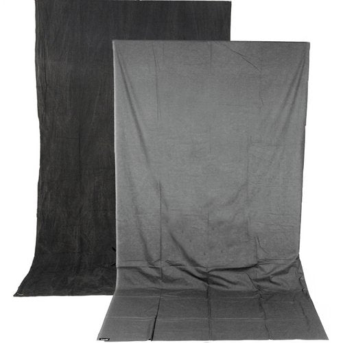 Charcoal/Smoke Gray Reversible Backdrop (10' x 12')
