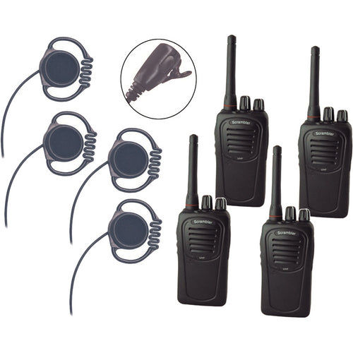 Wireless Radio Kit (4 Units)