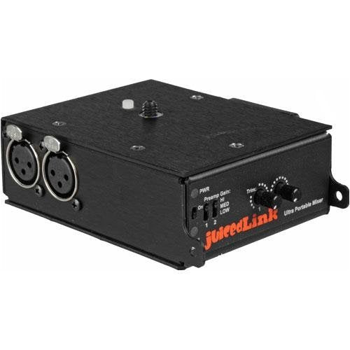 juicedLink 2-Channel Camcorder Audio Mixer/Preamp