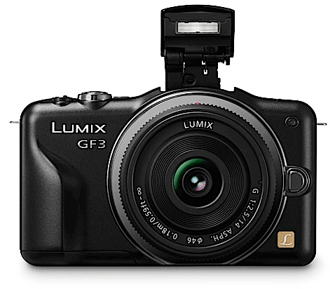 Panasonic DMC-GF3 Camera with Lens