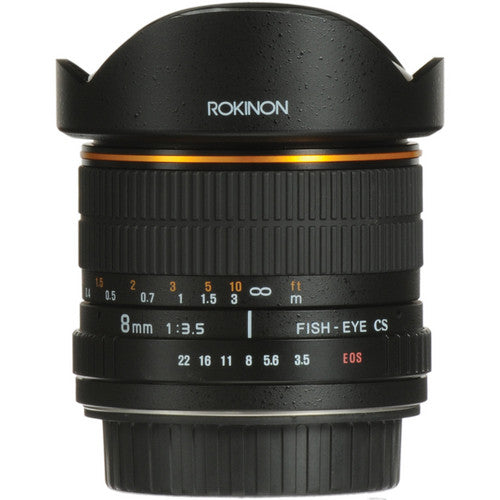 Rokinon 8mm f/3.5 Fisheye for Canon