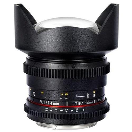 Samyang 14mm T3.1 Cine for Canon
