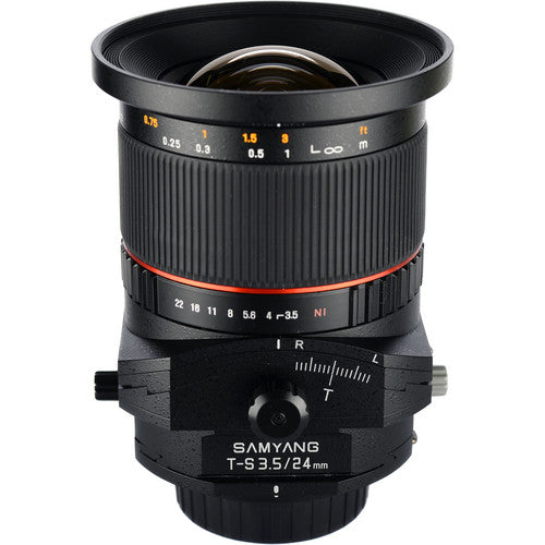 Samyang 24mm f/3.5 Tilt-Shift for Canon